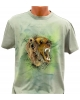 Tricou pictat manual - Wild Bear