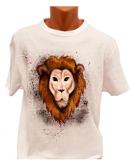 Tricou pictat manual - The Lion King