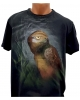Tricou pictat manual - Night Hawk