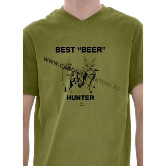"Tricou Best ""Beer"" Hunter"
